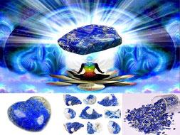 Lapis-Lazuli- Cheveux - Lithothérapie - casa bien-être
