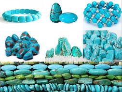 Turquoise - Boutique minéraux - casa bien-être - Ain