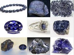 Cordiérite - Boutique minéraux - casa bien-être - Ain