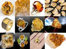 Citrine - Boutique minéraux - casa bien-être - Ain