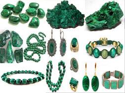 Malachite - Boutique minéraux - casa bien-être - Ain