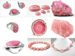 Rhodochrosite - Boutique minéraux - casa bien-être - Ain