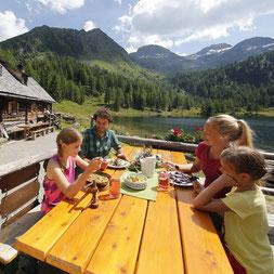 Hüttenkulinarik in der Region Schladming Dachstein
