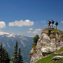 Wanderer in der Region Schladming Dachstein