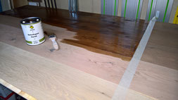Holzboden Beizen sandstrahlen restaurierung altbau sanierung meb tec com