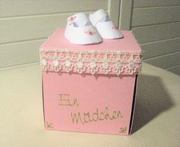 Geschenkbox fürs Baby