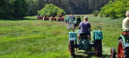 Traktor fahren Trecker Mecklenburg Touren