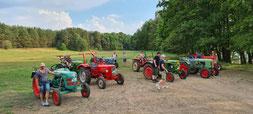 Traktor Touren Fahrten Oldtimer Mecklenburg