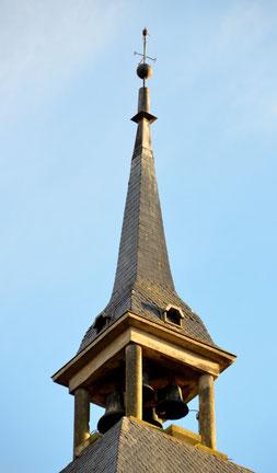 Le clocheton de l'Hôtel de Ville de Montdidier