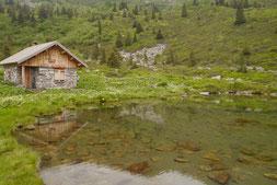 Cabane du Léat ou Hyppolyte Chassande Baroz / La Ferrière (Belledonne)
