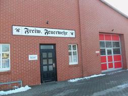 Domizil der Feuerwehr in Beuster