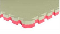 Dalle amortissante de karaté 4 cm d'épaisseur pour la pratique du karaté. Dalle Sarneige Karaté mat 40 à acheter pas cher.