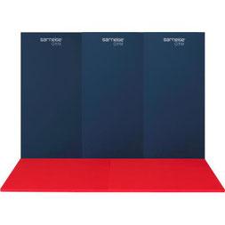 Protection murale en mousse pour salle de sport Sarneige classée non feu M2. Matériel Sarneige de tapis de mur de protection en mousse pour sport au meilleur prix.