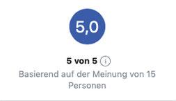 Facebook-Bewertungen (Stand: 3.01.2020)