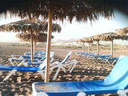 Playa La Tejita in El Médano, Teneriffa