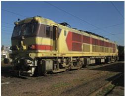 ONCFの保有する日本製電気機関車