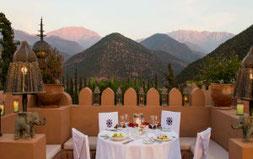 Aussicht Marokko Kasbah Tamadot