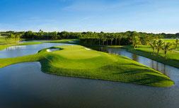 Golfplatz in Florida