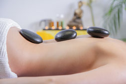 Hot Stone x-Massage in Öhringen-Verrenberg und Kosmetik Olga Riebel