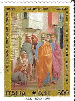 Masaccio-Briefmarke