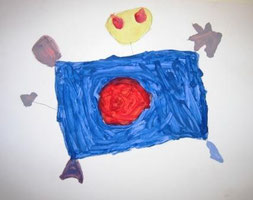 Alien painting by Ivan