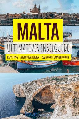 Pin für Malta Inselguide