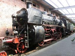 18 505 im Eisenbahnmuseum Neustadt/Weinstraße
