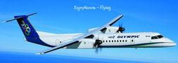 Fly from Athen to Naxos Greece - vliegen van Athene naar Naxos