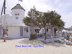 Flisvos Beach Café - Enjoy Naxos Greece