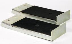 2 Auflage - Verbreiterungsaufsätze für Scheiben oder Platten bis 200 mm Dicke für die Glaswagen  TSL 500, TSL 600, TSL 700, TSL 800 und TSL 1000