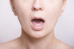 顔のゆがみ(輪郭)と姿勢のチェック