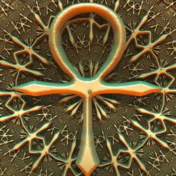 Das Ankh-Symbol passt zur Zeitqualität im März - SOULGARDEN Feng Shui im Jahreskreis