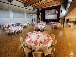 Salle mariage longuenee