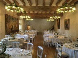 salle mariage chateau du plessis macé