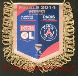 Fanion  PSG-Lyon  2013-14