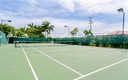 Cayman Reef Resort Tennis Court