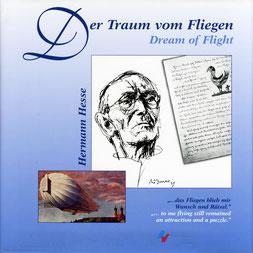 """""""Hermann Hesse – Der Traum vom Fliegen"""", Aviatic Verlag. Gesamtgestaltung. """"Hermann Hesse – Der Traum vom Fliegen"""", Aviatic Verlag. Gesamtgestaltung. """"Hermann Hesse – Der Traum vom Fliegen"""", Aviatic Verlag. Gesamtgestaltung Christina v. Puttkamer"""