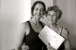 Avec Dinah Rodrigues, 2 juin 2014 Aix en Provence.