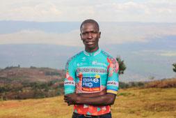 Salim Kipkemboi fährt seit vier Jahren für das deutsche UCI Continental Team Bike Aid