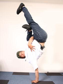 海外でも活躍する熊本が誇るブレイクダンサーDAIKIの画像
