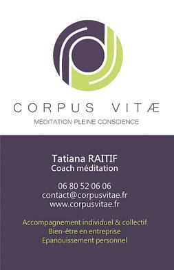 méditation pleine conscience burnout insomnie stress Tatiana Raitif