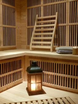 sauna à la ferme des Ânes