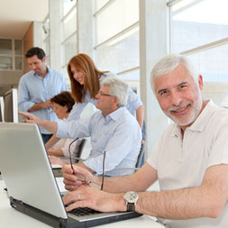 Senioren Computerkurse, Generation 50+