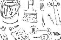 outils de chantier