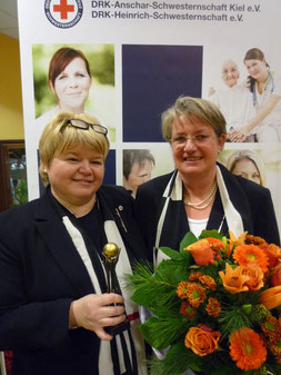 Oberin Maria Lüdeke und Vorstandsoberin Martina Egen