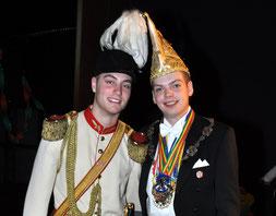 Prinsenreceptie prins Ricky I 11-01-2013