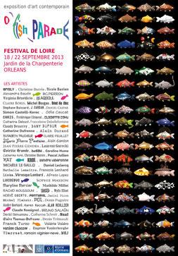 Claude Rossignol - Affiche O'Fish Parade Festival de Loire 2013