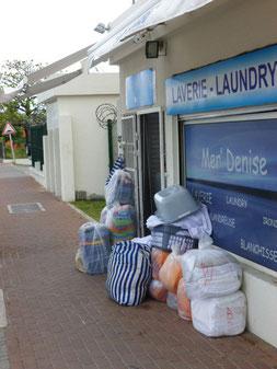 Die Wäscherei, da kann schon mal was verschwinden