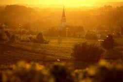 le village de Bommes au crépuscule  (® Vincent Bengold )