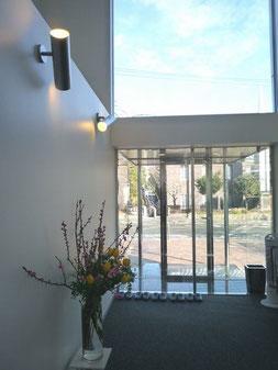 横浜山手デンタルクリニック 待合室から見える風景
